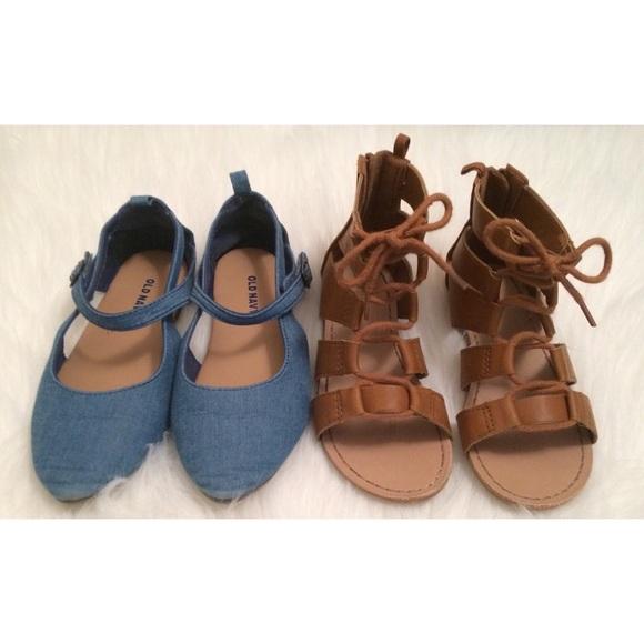 8e41601d105f3d Old Navy Toddler Girls Sandals SZ 10. M 5ab2b3483316274d8161fe60